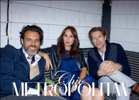 Chris Rojas Chic Metropolitan Magazine